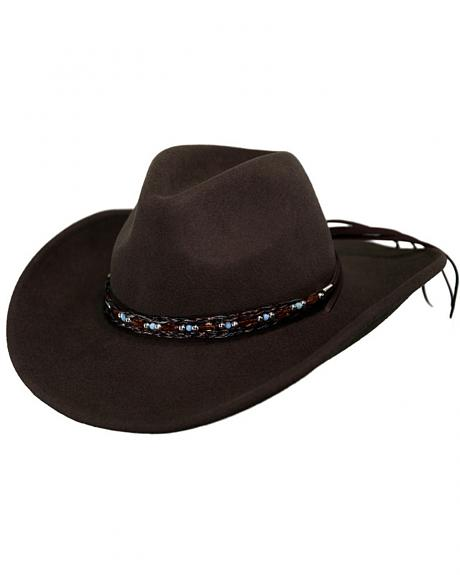 Outback Trading Co. Aubrey UPF50 Sun Protection Crushable Wool Hat