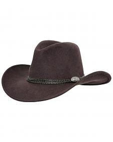 Outback Trading Co. Shy Game UPF50 Sun Protection Crushable Wool Hat