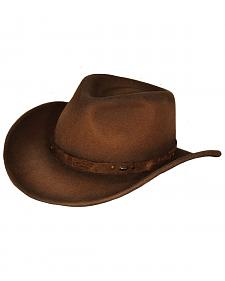 Outback Trading Co. Sidekick UPF50 Sun Protection Crushable Wool Hat