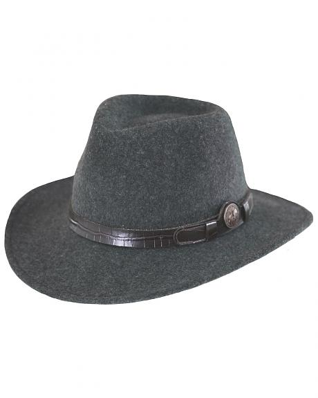 Outback Trading Co. Collingsworth UPF50 Sun Protection Crushable Wool Hat