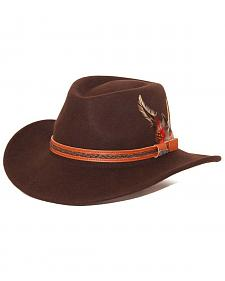 Outback Trading Co. High Country UPF50 Sun Protection Crushable Wool Hat