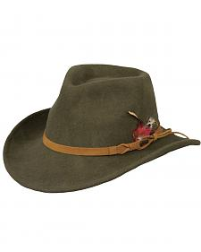 Outback Trading Co. Randwick UPF50 Sun Protection Crushable Wool Hat