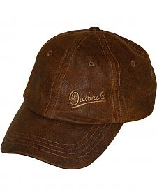 Outback Trading Co. Leather Slugger Cap