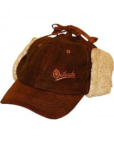 Outback Trading Co. Leather Mckinley Cap