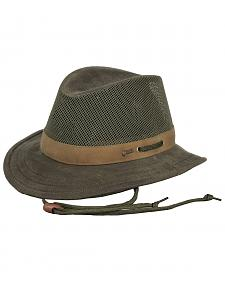 Outback Trading Co. Oilskin Willis with Mesh Hat