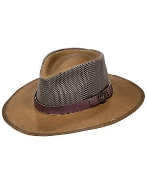Outback Trading Co. Oilskin Kodiak with Mesh Hat