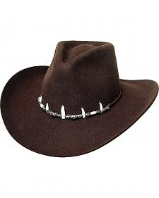 Bullhide Jimmy Rifle Face Off 4X Premium Wool Cowboy Hat