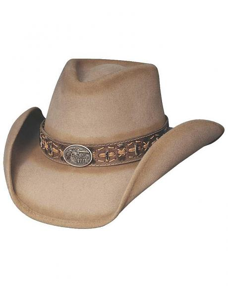 Bullhide Billy The Kid Premium Wool Cowboy Hat