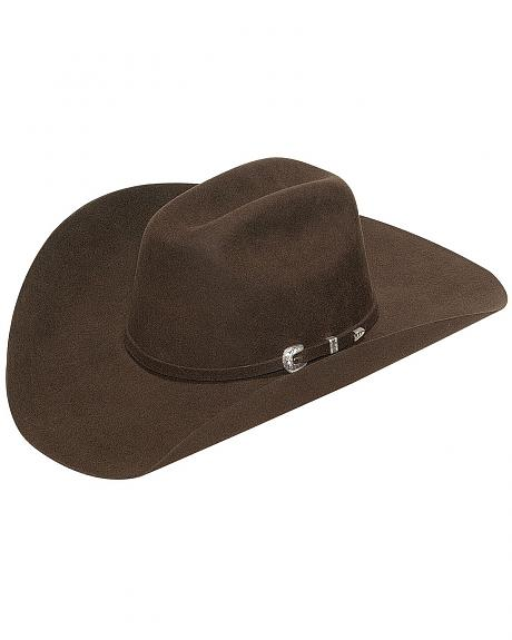 Twister Men's Laredo Self Band with Three-Piece Buckle Hat