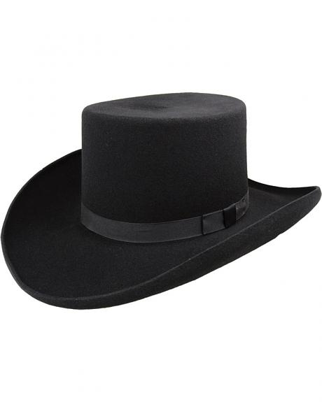 Bailey Western Dillinger Flat Top Hat