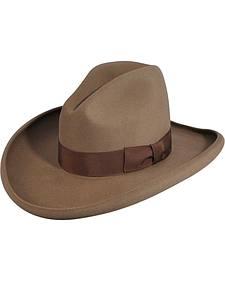 Bailey Clayton Pecan Gus Crown Cowboy Hat