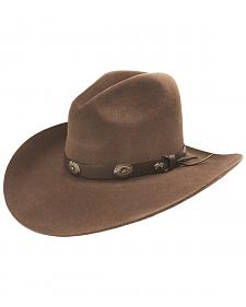 Bailey Western Tombstone Pecan Brown Hat