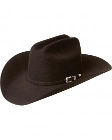 Bailey Western Lightning 4X Chocolate Brown Hat