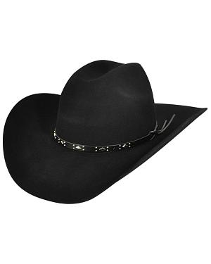 Bailey Western Dynamite 2X Black Hat