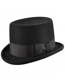 Bailey Western Big Zwey Black Top Hat