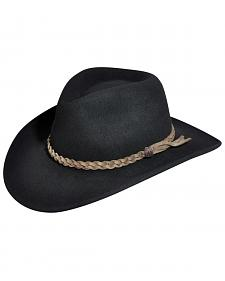 Bailey Switchback LiteFelt Wind River Black Outback Hat