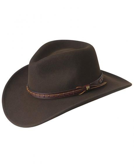 Wind River by Bailey Firehole Brown Western Hat