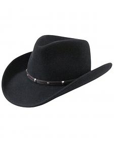 Bailey Wind River Rider Black Western Hat