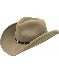Bailey Wind River Rider Khaki Western Hat