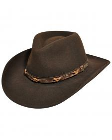 Wind River by Bailey Palisade Brown Western Hat