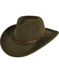 Bailey Wind River Palisade Olive Western Hat