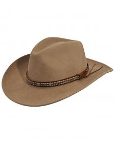Bailey Wind River Nock Putty Western Hat