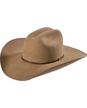Justin Bent Rail 7X Hooch Pecan Fur Felt Cowboy Hat