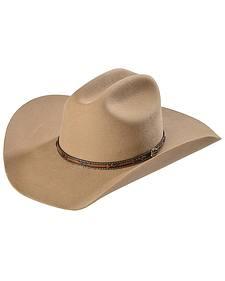 Justin 2X Gallop Fawn Wool Felt Cowboy Hat