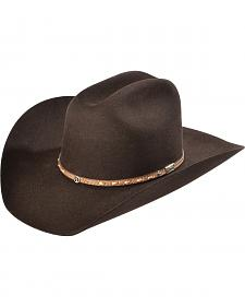 Larry Mahan Men's 3X Granger Chocolate Xtreme Cowboy Hat