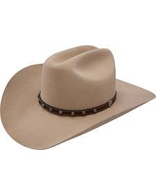 Stetson 4X Buffalo Cyprus Silversand Cattleman Hat
