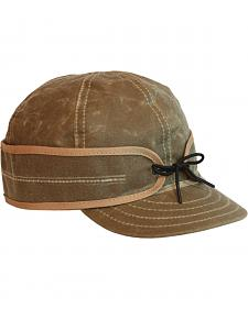 Stormy Kromer Men's Tan Waxed Cotton Cap