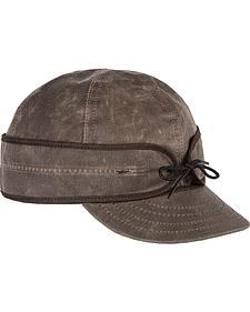Stormy Kromer Men's Oak Waxed Cotton Cap