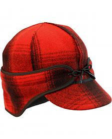 Stormy Kromer Men's Red & Black Plaid The Rancher Cap