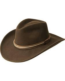 Bailey Men's Flintock Wool Felt Outback Hat