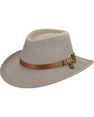 Bailey Men's Eustace Wool Felt Outback Hat