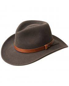 Bailey Men's Caliber Wool Felt Outback Hat