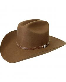 Silverado Men's Wool Felt Brown Cowboy Hat