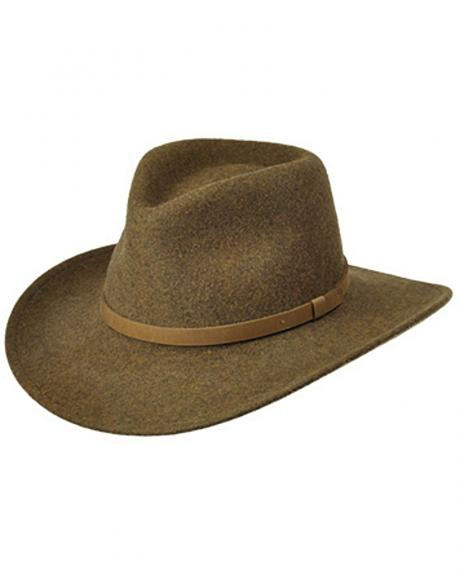 Master Hatters Men's Olive Commuter Crushable Hat