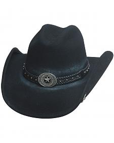Bullhide Hats Men's Cowboy Collection Stray Bullet Wool Felt Western Hat