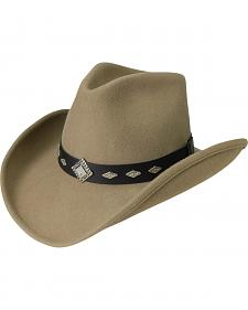 Silverado Men's Sparkle Wool Western Hat