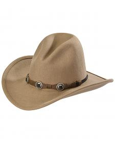 Silverado Men's Gus Crushable Wool Western Hat