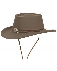 Silverado Unisex Dusty Crushable Wool Western Hat