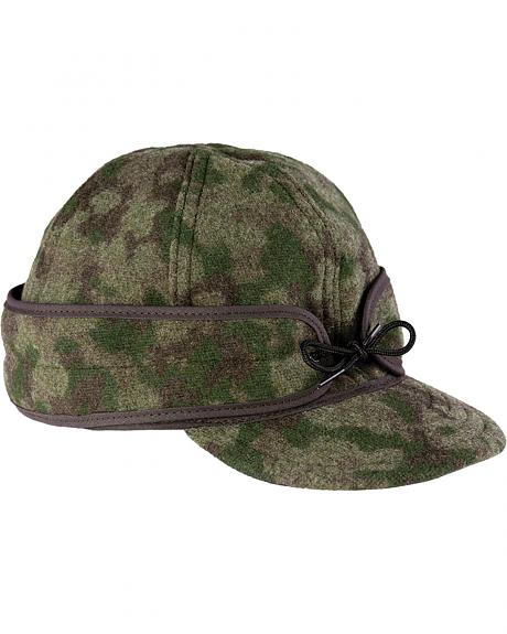 50010-74V STORMY KROMER FLANNEL LINED WITH PULLDOWN EARBAND ORIGINAL CAP