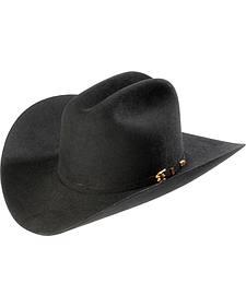 Larry Mahan 8X Los Tigres Del Norte Black Cowboy Hat