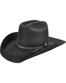 Bailey Men's Harshaw 2X Black Cowboy Hat