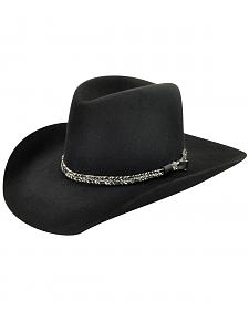 Bailey Men's Black Truckton 3X Cowboy Hat
