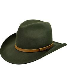 Wind River by Bailey Men's Remington Green Goldfield Hat