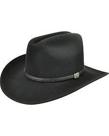 Wind River by Bailey Men's Wistar Black Felt Hat