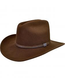Wind River by Bailey Men's Wistar Brown Felt Hat