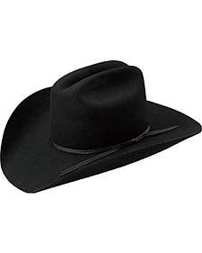 Master Hatters Men's Black Mesquite Felt Hat